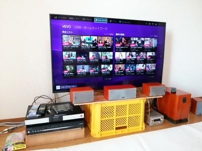 DSC 0478 400x300 大型液晶テレビを壁掛けにDIY アイテムはWAKAI ディアウォール その1