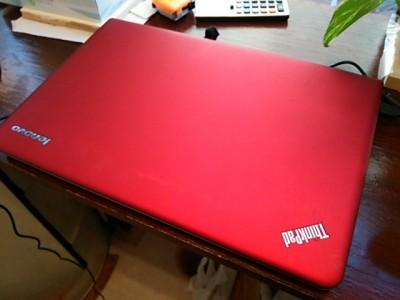 DSC 0011 400x300 ノートパソコン貰った lenovo ThinkPad E540