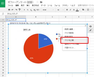 1114 09 400x327 Googleドライブでアンケートを作りホームページに貼り付ける方法 応用編