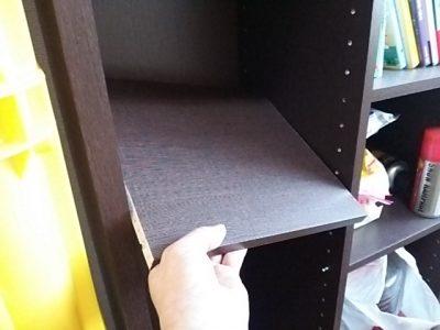 DSC 0080 400x300 要らなくなった本棚を、壁紙使ってリサイクル
