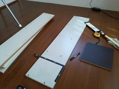 DSC 0081 400x300 要らなくなった本棚を、壁紙使ってリサイクル
