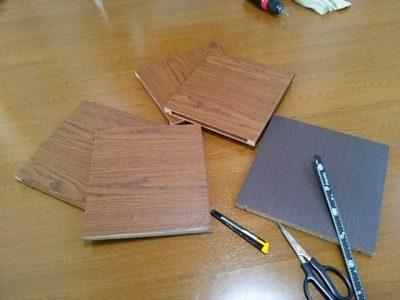 DSC 0086 400x300 要らなくなった本棚を、壁紙使ってリサイクル