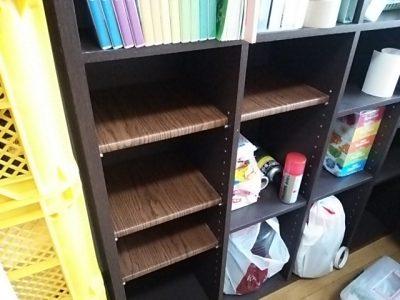 DSC 0088 400x300 要らなくなった本棚を、壁紙使ってリサイクル