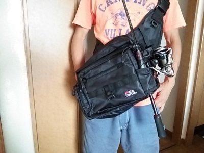 DSC 0075 400x300 Abu Garcia(アブ・ガルシア)ワンショルダーバッグ2 バス釣り用に買いました
