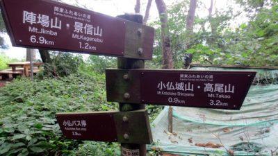 IMG 3090 400x225 小仏峠から高尾山ルート そしてビアガーデン 真夏の初級者登山レポート
