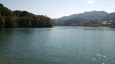 DSC 0185 400x225 釣行記2017 P.17 島田湖 桂川 (山梨県上野原市)おかっぱり バス釣り