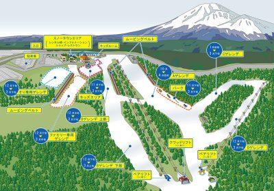img map2017 2 400x280 富士山2合目のスキー場「スノータウン イエティ(Yeti)」に初めて行ってきました。