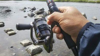 DSC 0003 400x225 多摩川バス釣り 9連チャン目のボウズは長靴持参|釣行記 2018 6月 P.25