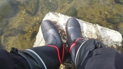 DSC 0005 400x225 多摩川バス釣り 9連チャン目のボウズは長靴持参|釣行記 2018 6月 P.25