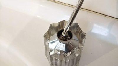 DSC 0023 400x225 美容院のシャンプーボール部品・水栓(スピンドル)を交換DIY