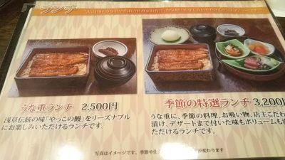 DSC 0050 400x225 浅草「やっこ」のうな重と、甘味処「梅園(うめぞの)本店」のおしるこ。
