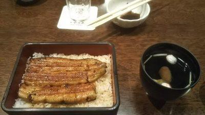 DSC 0052 400x225 浅草「やっこ」のうな重と、甘味処「梅園(うめぞの)本店」のおしるこ。
