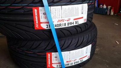 DSC 0167 400x225 アコードワゴン 新品タイヤに2本交換 ローダウン対応ジャッキを購入 2019