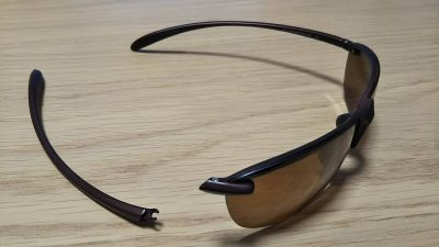 DSC 0025 1 400x225 偏光グラス 釣りには必須アイテム ユニクロ「スポーツ ライトウェイト ハーフリム」