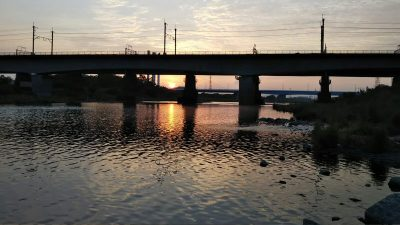 DSC 0030 400x225 多摩川 バス釣り デコ4連チャン ショートバイトすらない|釣行記2019 6月 P.20