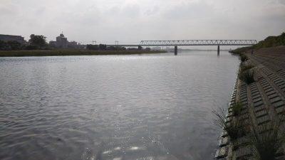 DSC 0033 400x225 多摩川 バス釣り デコ4連チャン ショートバイトすらない|釣行記2019 6月 P.20