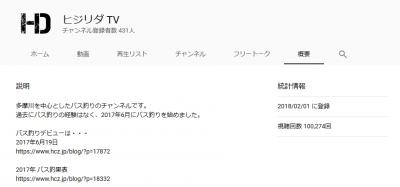 2019 0810 01 400x187 視聴回数が10万回になりました「HIZIRI DA TV」