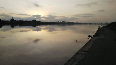 DSC 0037 400x225 【多摩川 バス釣り】朝まずめにタモが折れた こんな日は釣れる気しない