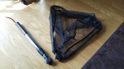 DSC 0052 1 400x225 コスパのランディングネット バス釣り用に購入トーマス(TOMAS) コンプリート300