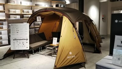 DSC 0054 400x225 モリパーク アウトドアヴィレッジ(昭島市)キャンプ用品の下見