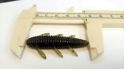 DSC 0119 400x225 沈み蟲(シズミムシ)イモ虫ワーム 果たして多摩川バスでも食ってくるか?