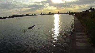 1001 05 400x225 【多摩川 バス釣り】沈み蟲(シズミムシ)はノーシンカーが好感触|釣行記2019 10月 P.33