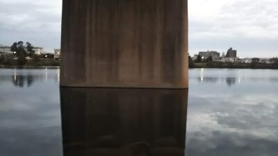DSC 0075 400x225 【多摩川 バス釣り】沈み蟲(シズミムシ)はノーシンカーが好感触|釣行記2019 10月 P.33