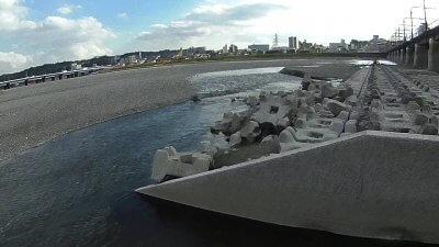 1119 01 400x225 【多摩川 バス釣り】台風後に多摩川が消滅した!?2019(秋)ここのポイントは完全に終わった。  釣行記2019 11月 P.38