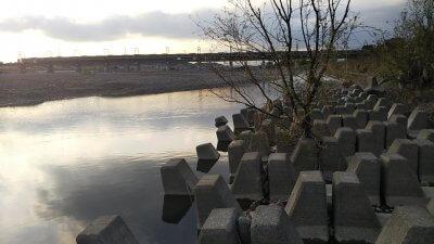 DSC 0020 400x225 【多摩川 バス釣り】台風後に多摩川が消滅した!?2019(秋)ここのポイントは完全に終わった。  釣行記2019 11月 P.38