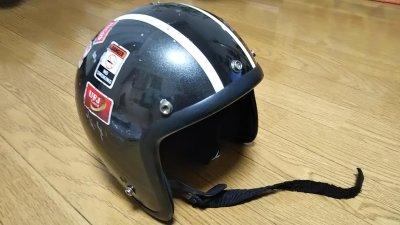 DSC 0033 400x225 ヘルメット(ジェットヘルメット)の格安シールド カラーはカラフル
