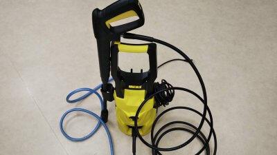 DSC 0035 400x225 ケルヒャーじゃない高圧洗浄機 Japgor「Jp 101」最大吐出圧力9MPa