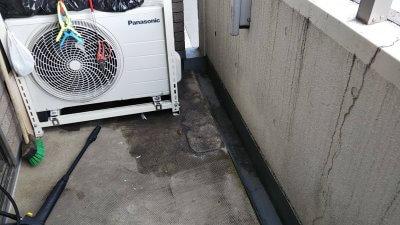 DSC 0047 400x225 ケルヒャーじゃない高圧洗浄機でベランダを掃除してみた
