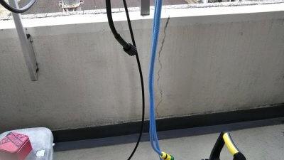 DSC 0058 400x225 ケルヒャーじゃない高圧洗浄機でベランダを掃除してみた