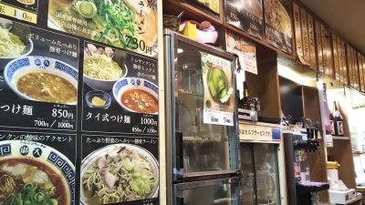 DSC 0096 400x225 御天(ごてん)千駄ヶ谷店(GOTEN)とんこつラーメンと替玉「バリカタ」