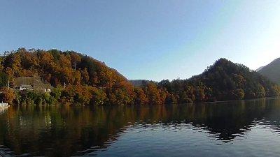 1117 05 400x225 【多摩川 バス釣り】奥多摩湖をスクーターでランガン|釣行記2020 11月 P.21