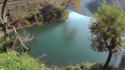 1117 08 400x225 【多摩川 バス釣り】奥多摩湖をスクーターでランガン|釣行記2020 11月 P.21