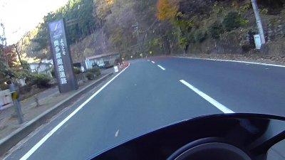 1117 12 400x225 奥多摩 紅葉ツーリング スクーター(NMAX125)で奥多摩周遊道路を走ってきました