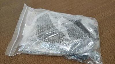 DSC 0248 400x225 YAMAHA NMAX125 ナックルバイザー(ナックルカバー) ラッピング(カーボン調)