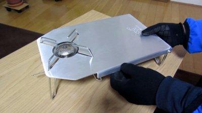 007 400x225 FUTURE FOX (フューチャーフォックス) SOTO ST 310 専用 ステンレステーブル 開封レビュー