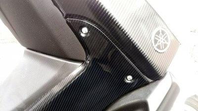 DSC 0161 400x225 YAMAHA NMAX125 サイドカーバー(右側)のラッピングを貼り直し