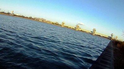 0216 04 400x225 【多摩川 バス釣り】ベイトリール飛距離計測中に、まさかの大物がヒット!|釣行記2021 2月 P.02