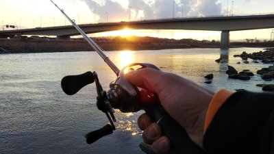DSC 0173 400x225 【多摩川 バス釣り】2021年の初釣り ベイトフィネスを投げ倒す|釣行記2021 2月 P.01