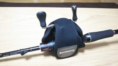 DSC 0218 400x225 シマノ(SHIMANO)リールガード(PC 030L)と中国産ベイトリールカバーを購入