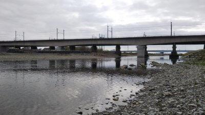DSC 0327 400x225 【多摩川 バス釣り】寒さに心折れてしまったが、意外と水温高し|釣行記2021 4月 P.05