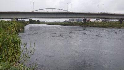 DSC 0466 400x225 【多摩川 バス釣り】カッパ着ての夕まずめ雨釣行は高活性だったが|釣行記2021 9月 P.21