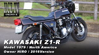 KAWASAKI Z1-R Ⅱ Model 1979 North America|Owner:HIRO